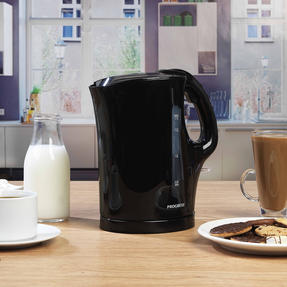 Progress COMBO-4628 1.7 Litre Kettle with Soft Grip Handle and Two-Slice Toaster with Slide-Out Crumb Tray, Black Thumbnail 4