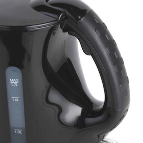Progress COMBO-4628 1.7 Litre Kettle with Soft Grip Handle and Two-Slice Toaster with Slide-Out Crumb Tray, Black Thumbnail 8
