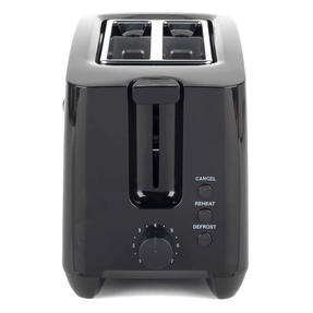 Progress COMBO-4628 1.7 Litre Kettle with Soft Grip Handle and Two-Slice Toaster with Slide-Out Crumb Tray, Black Thumbnail 9