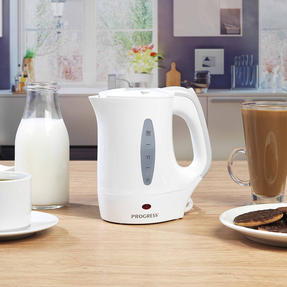 Progress COMBO-4629 Four-Slice Toaster and 0.5 L Travel Kettle, White Thumbnail 4