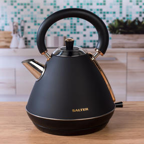 Salter COMBO-3953 Pyramid Kettle and Four- Slice Toaster Set, Rose Gold Edition Thumbnail 4