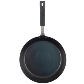 George Wilkinson Pan For Life Pretreated Frying Pan, 28 cm, Black Steel Thumbnail 3