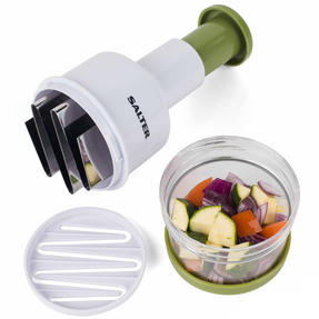 Salter BW03823GRN Fruit and Vegetable Press Chopper with Stainless Steel Blade Thumbnail 7