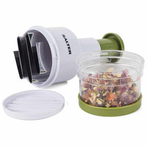 Salter BW03823GRN Fruit and Vegetable Press Chopper with Stainless Steel Blade Thumbnail 9