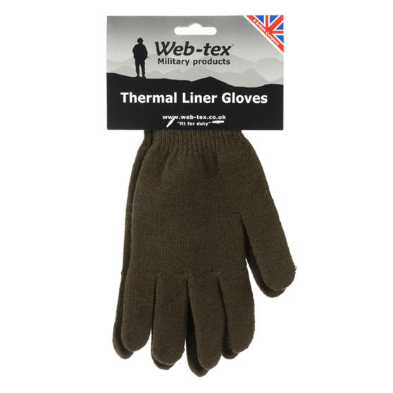 Web-Tex Thermal Liner Gloves