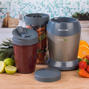 Salter EK2002V4SILVER NutriPro 1000 Multi-Purpose Blender with Blending Cups and Lids, 1 Litre, 1000 W Thumbnail 7