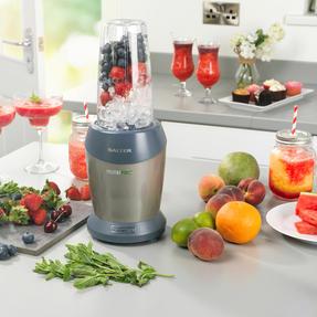 Salter EK2002V4SILVER NutriPro 1000 Multi-Purpose Blender with Blending Cups and Lids, 1 Litre, 1000 W Thumbnail 5