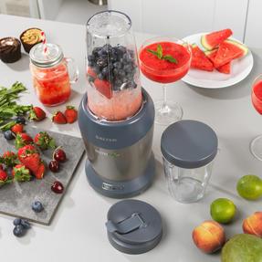 Salter EK2002V4SILVER NutriPro 1000 Multi-Purpose Blender with Blending Cups and Lids, 1 Litre, 1000 W Thumbnail 6