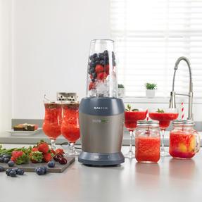 Salter EK2002V4SILVER NutriPro 1000 Multi-Purpose Blender with Blending Cups and Lids, 1 Litre, 1000 W Thumbnail 7