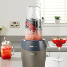 Salter EK2002V4SILVER NutriPro 1000 Multi-Purpose Blender with Blending Cups and Lids, 1 Litre, 1000 W Thumbnail 8