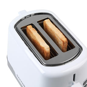 Salter EK3467WHT Deco 2-Slice Toaster with Warming Rack, 850 W, White Thumbnail 5