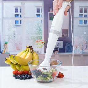 Progress COMBO-3656 Hand Blender and Five-Speed Hand Mixer Set, 350/200 W, White/Grey Thumbnail 8