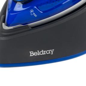 Beldray BEL0916 Duo Steam Pro 2-In-1 Handheld Garment Steamer, 150 ml, 1200 W, Black/Blue Thumbnail 2
