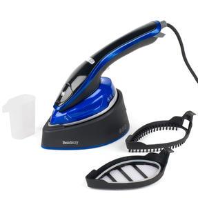 Beldray BEL0916 Duo Steam Pro 2-In-1 Handheld Garment Steamer, 150 ml, 1200 W, Black/Blue Thumbnail 4