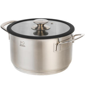 Peugeot COMBO-4735 Stainless Steel Casserole Pot and Cooking Pot Set, 2 Piece, 20 cm Thumbnail 3