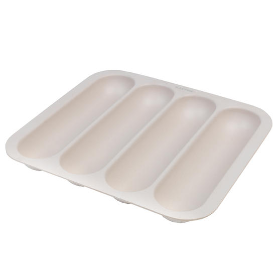 Salter BW07817 Earth Lightweight Kitchen Drawer Organiser / Cutlery Dividing Tray, BPA Free, Four-Compartment, Natural