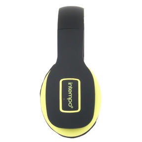Intempo EE1178SBLKYELSTKEU Active Wireless Bluetooth Foldable Headphones, Black/Yellow Thumbnail 4
