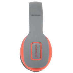 Intempo EE1178SGRYCORSTKEU Active Wireless Bluetooth Foldable Headphones, Grey/Coral Thumbnail 2