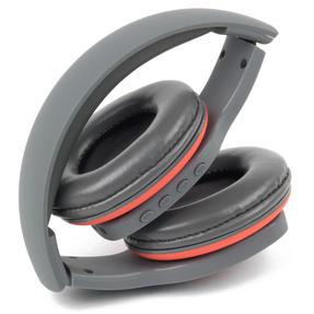 Intempo EE1178SGRYCORSTKEU Active Wireless Bluetooth Foldable Headphones, Grey/Coral Thumbnail 4