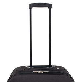 "Constellation Eva 3 Piece Suitcase Set, 18/24/28"", Black Thumbnail 9"