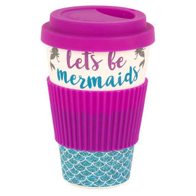 Cambridge COMBO-4793 Lets Be Mermaids Eco Travel Mugs, Set of 2 Thumbnail 2
