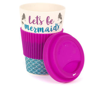 Cambridge COMBO-4793 Lets Be Mermaids Eco Travel Mugs, Set of 2 Thumbnail 3