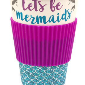 Cambridge COMBO-4793 Lets Be Mermaids Eco Travel Mugs, Set of 2 Thumbnail 4
