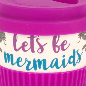 Cambridge COMBO-4793 Lets Be Mermaids Eco Travel Mugs, Set of 2 Thumbnail 6