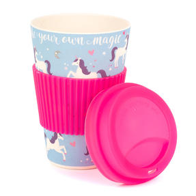 Cambridge COMBO-4795 Magic Unicorn Eco Travel Mugs, Set of 2 Thumbnail 2
