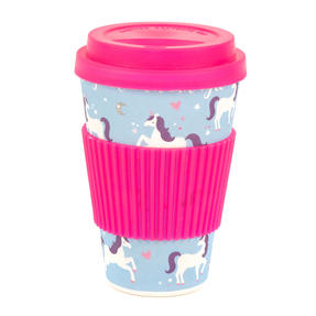 Cambridge COMBO-4795 Magic Unicorn Eco Travel Mugs, Set of 2 Thumbnail 3