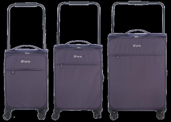 """ZFrame 22"""" Medium 4 Double Wheel Suitcase, 2.48 kg, 51 Litre Thumbnail 4"""