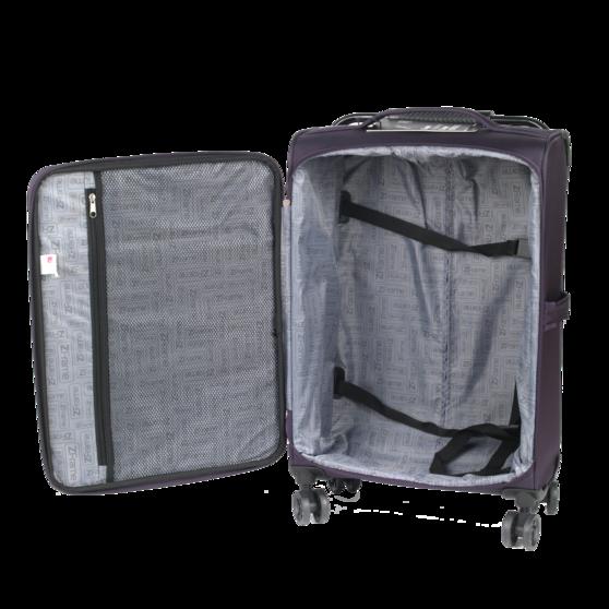 "ZFrame 18"", 22"", 26"" 4 Double Wheel Suitcase 3 Piece Set Thumbnail 3"