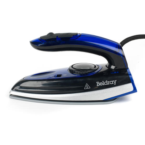 Beldray Space Saving Compact Travel Iron with Dual Voltage, 1000 W Thumbnail 2