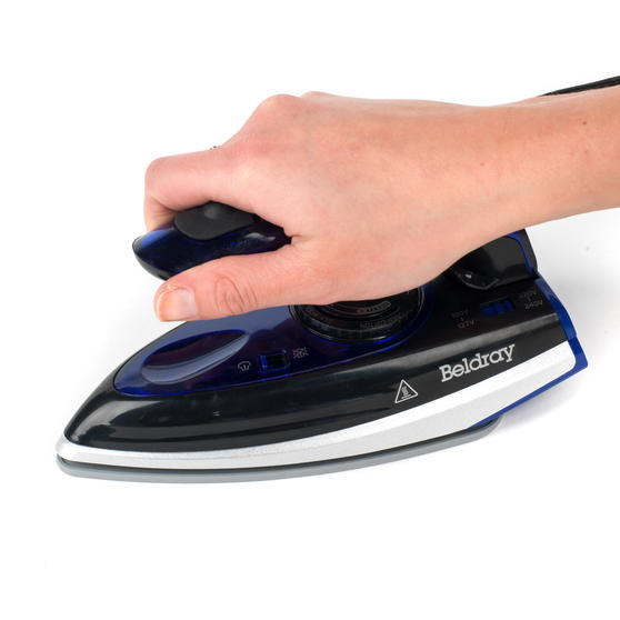 Beldray Space Saving Compact Travel Iron with Dual Voltage, 1000 W Thumbnail 4