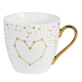 Cambridge CM06362 Kendal Gold Hearts Stars Fine China Mug