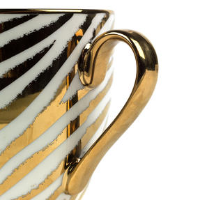 Cambridge CM06548 Kendal Jungle Zebra Fine China Mug Thumbnail 3