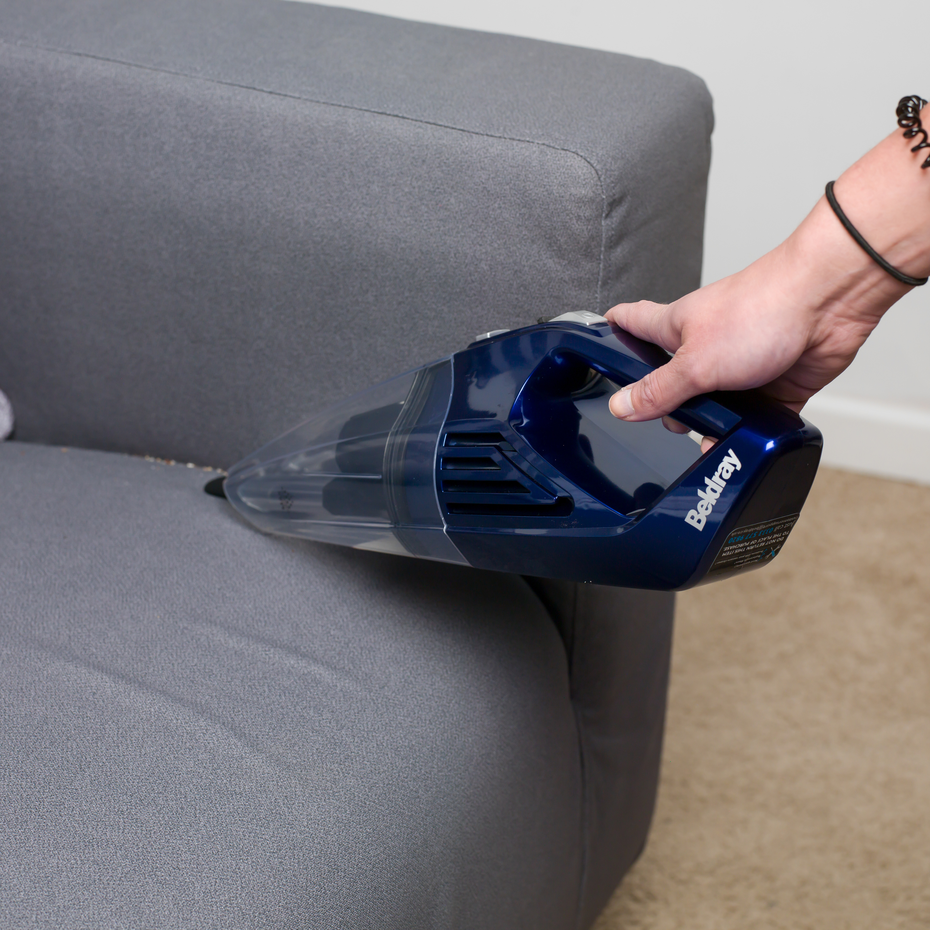Beldray Cordless Rechargeable Wet And Dry Handheld Vacuum