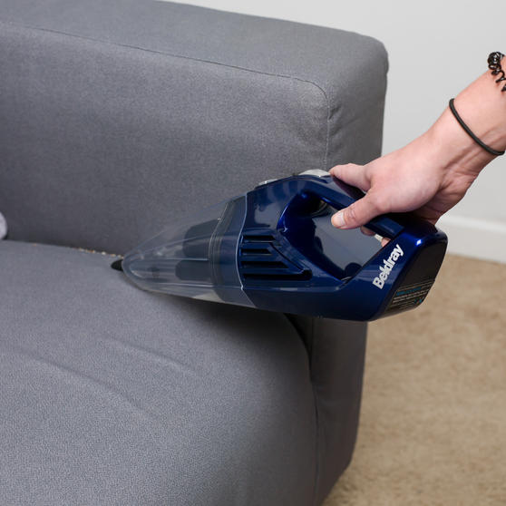 Beldray Cordless Rechargeable Wet and Dry Handheld Vacuum Cleaner,  0.5 L, 7.4 V, Blue Thumbnail 7