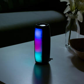 Intempo EE4878BLKSTKUK Rechargeable Bluetooth LED Light up Speaker for iPhone, Android and Other Smart USB Devices Thumbnail 4