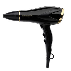 Andrew Barton 5312ABU Radiant Dry Argan Infused Hair Dryer, Black