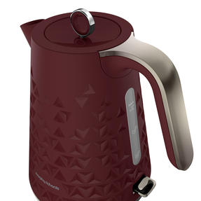 Morphy Richards 108253 Prism Kettle, 1.5 L, Merlot Thumbnail 2
