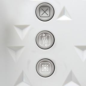 Morphy Richards 248110 4-Slice Prism Toaster, White Thumbnail 2