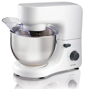 Morphy Richards 400020 Stand Mixer with Attachments, White