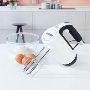 Morphy Richards 400505 Total Control Hand Mixer, White/Black Thumbnail 8