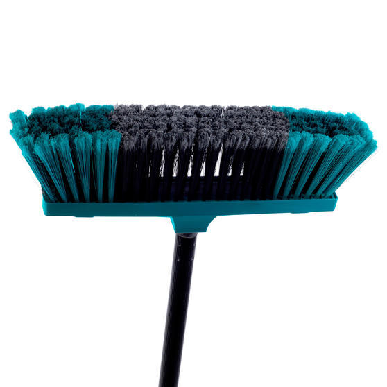 Beldray Tulip Cleaning Floor Brush Broom, 120 cm, Turquoise Thumbnail 2