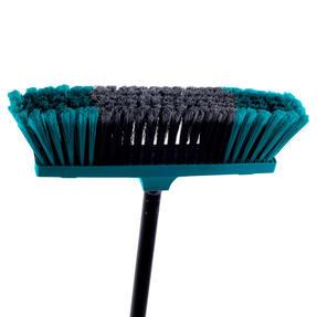 Beldray LA030474TQ Tulip Cleaning Floor Brush Broom, 120 cm, Turquoise Thumbnail 4
