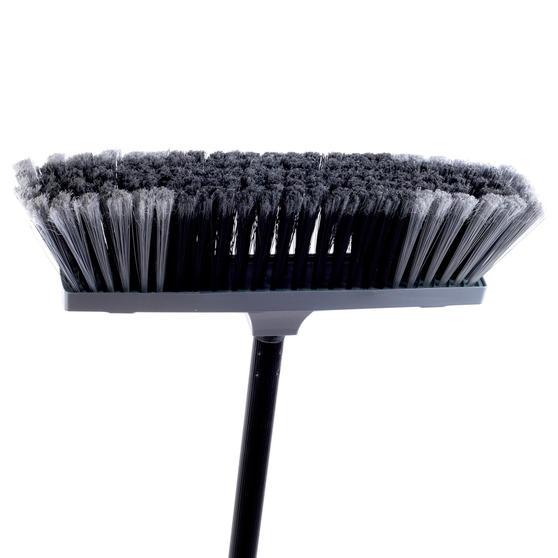 Beldray Tulip Cleaning Floor Brush Broom, 120 cm, Grey Thumbnail 2