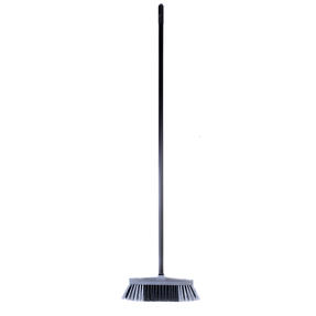 Beldray LA030474SIL Tulip Cleaning Floor Brush Broom, 120 cm, Grey