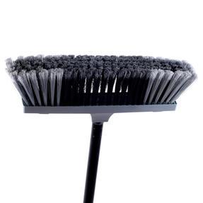 Beldray LA030474SIL Tulip Cleaning Floor Brush Broom, 120 cm, Grey Thumbnail 2