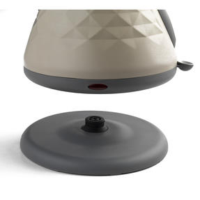 Salter EK2617 1.8 L Naturals Pyramid Kettle with 3kW Rapid Boil, Stone Thumbnail 2